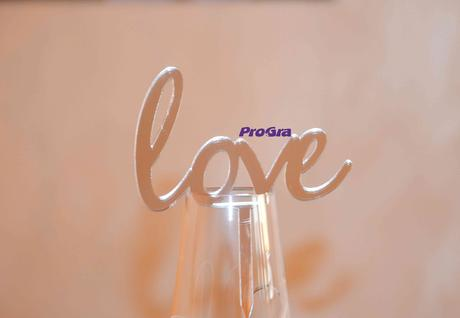 Love - stříbrný zápich,