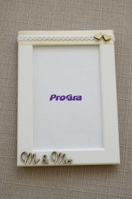 Svatební fotorámečky - set 3 ks,