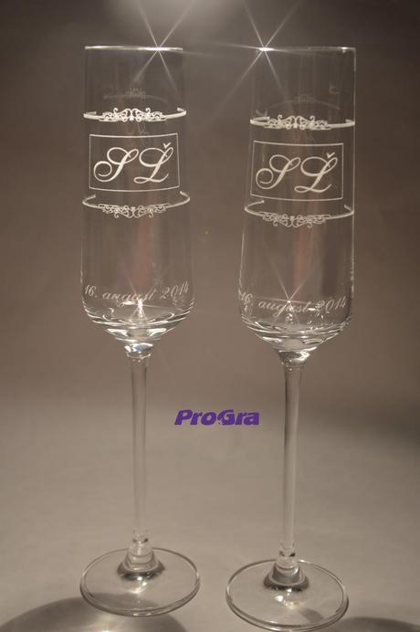 Trinity - svatební skleničky 2ks,