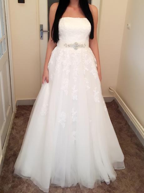 Svadobné šaty veľkosti 38-40 , 38