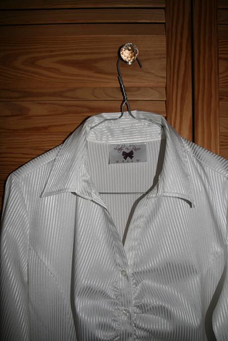 Slavnostní bílá blůza, košile, 40