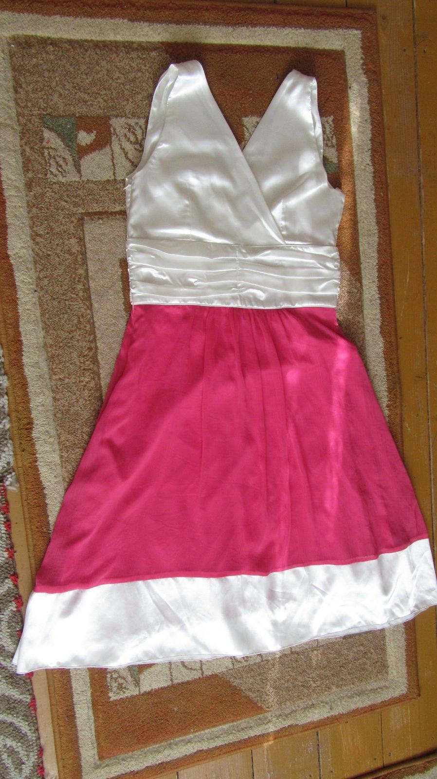 ce34e6c08 Smotanovo ružové šaty, s - 15 €   Svadobný bazár   Mojasvadba.sk