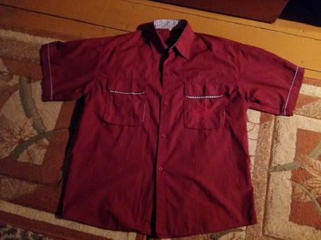Bordová košeľa, L