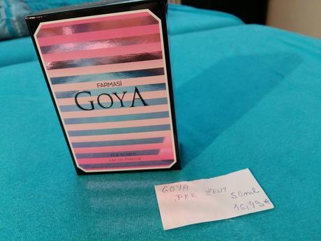 Dámska toaletná voda Goya,