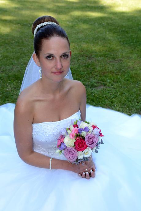 Princeznovský svatební šaty, 36
