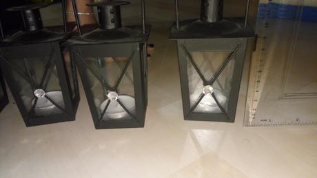 Malé lampášiky - svietniky,