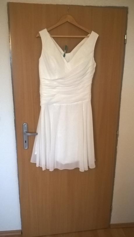 Krátke svadobné šaty 44-46-48, 46