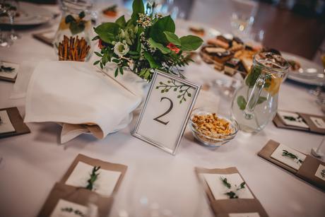 Fotorámiky na označenie stolov,