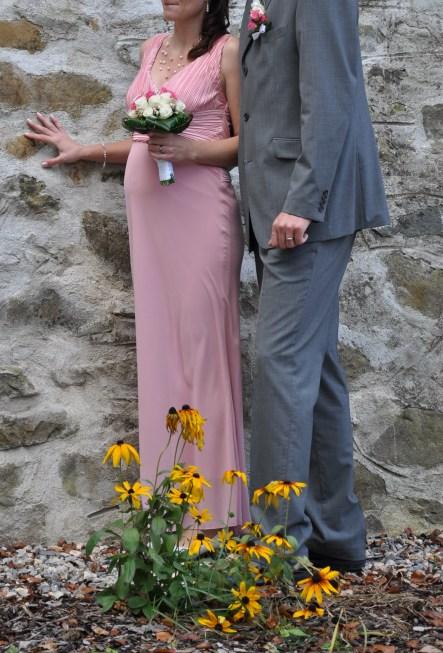 Svatební šaty pro těhotné (vhodné i pro netěhotné), 39