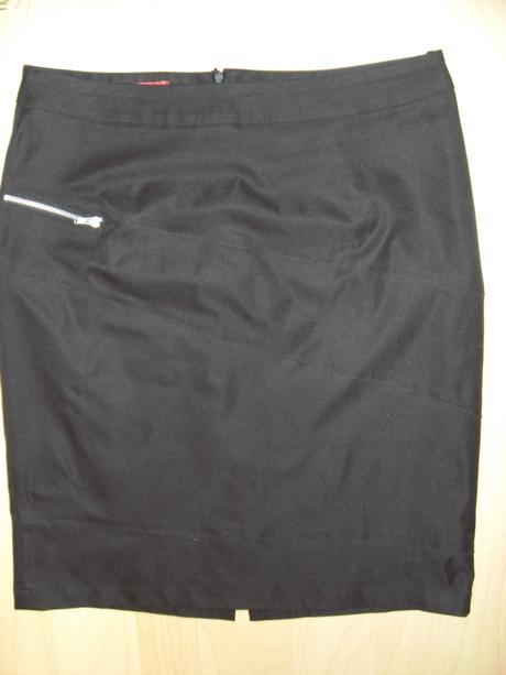 Společenská černá sukně, 38
