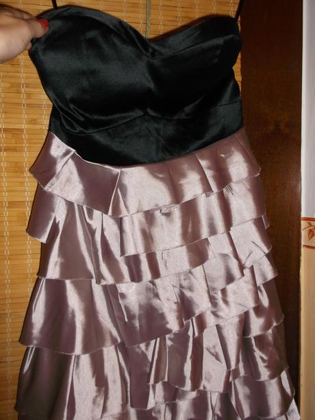 krátke spoločenské šaty, S