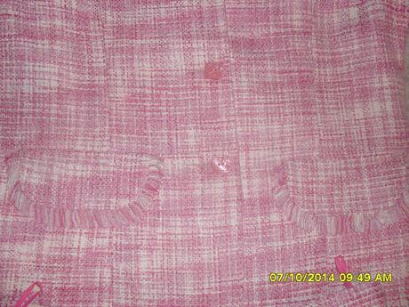 Ružové sako+ sukňa, 40