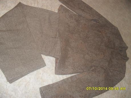 sako+krátke nohavice, 38