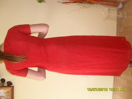 šifonové šaty , 40