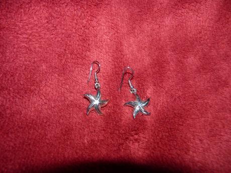 Náušnice hviezdičky,