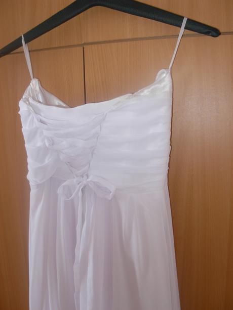 Korzetové svadobné šaty - aj pre tehuľky, v.36-38, 36