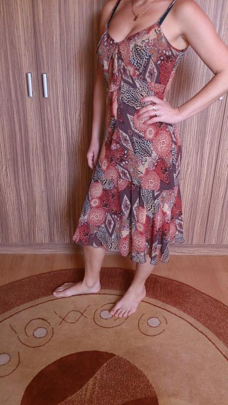 Elegantná letné šaty, 39