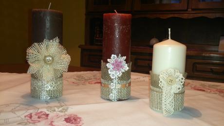 sviečky ozdobné,cena je uvedená za ks,
