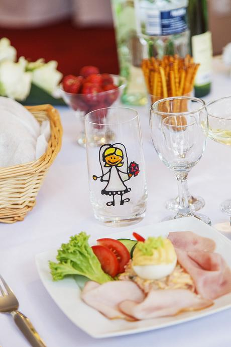 Svadobné poháre na nápoje,