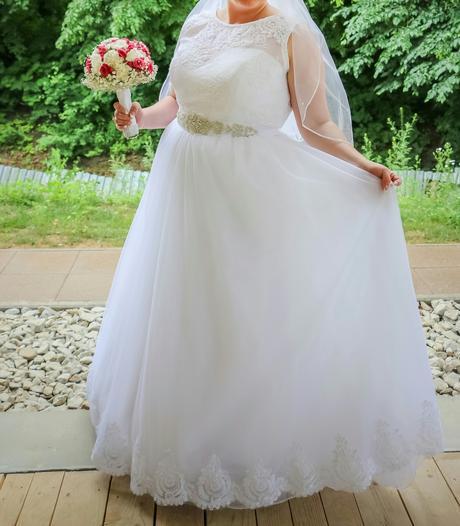 komplet Svadobné šaty , 44
