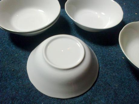 Porcelánové misy,