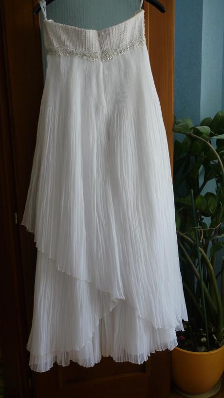 Empírové svadobné šaty , 38