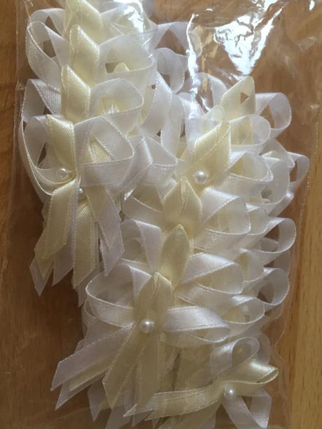 Pierka - ivory/biela, 40 ks,