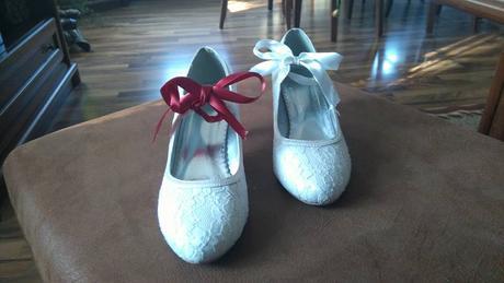 Krajkové svatební lodičky, 42