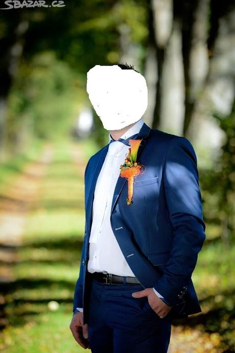 Pánský oblek, L