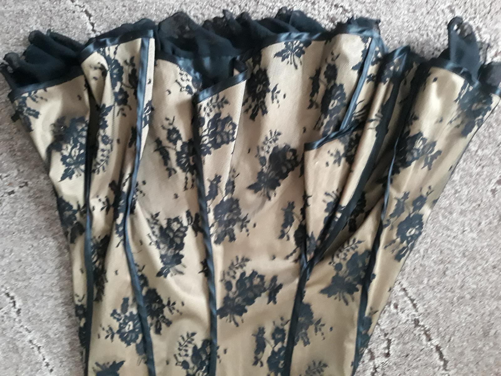 437f87a68292 Spoločenské šaty zlato biele