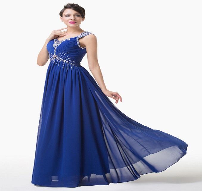 17d7ea0da964 Modré spoločenské šaty pre moletky