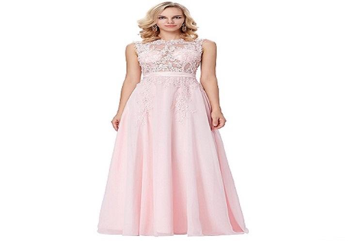 f035850cc44e Ružové spoločenské šaty pre moletky