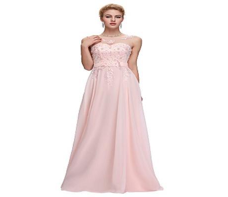 feb2c3a65af3 Ružové spoločenské šaty pre moletky