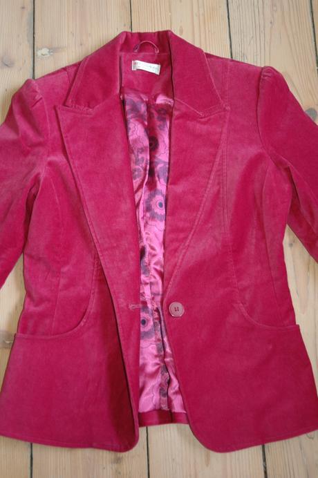 Luxusní společenské sáčko- kabátek vel.S , S
