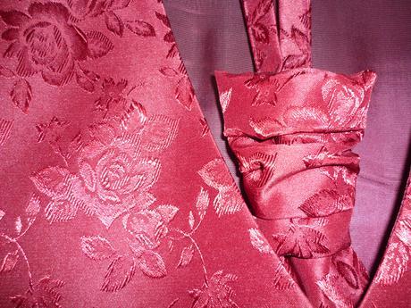 Svadobná Vesta, kravata, vreckovka, 40