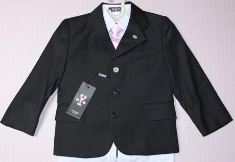 Chlapčenský oblek - sako+vesta+nohavice, 164