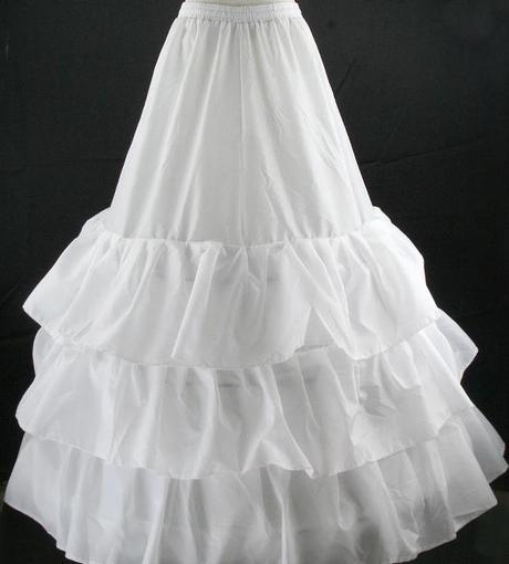 Spodnica pod svadobné šaty 3-kruhová (model c9),