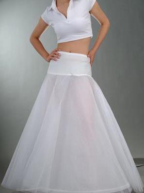 Spodnica pod svadobné šaty s 1 kruhom (model c7),