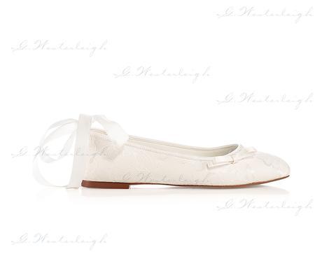 Svadobné balerínky Lottie, G. Westerleigh  , 37