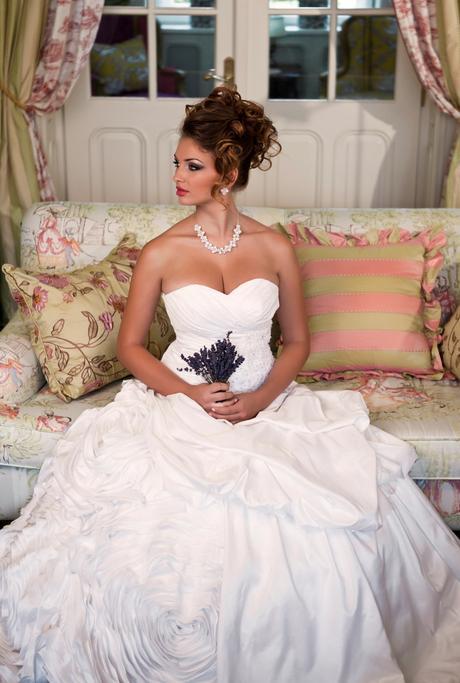Svadobné šaty Adriana - jediný kus vo výpredaji, 44