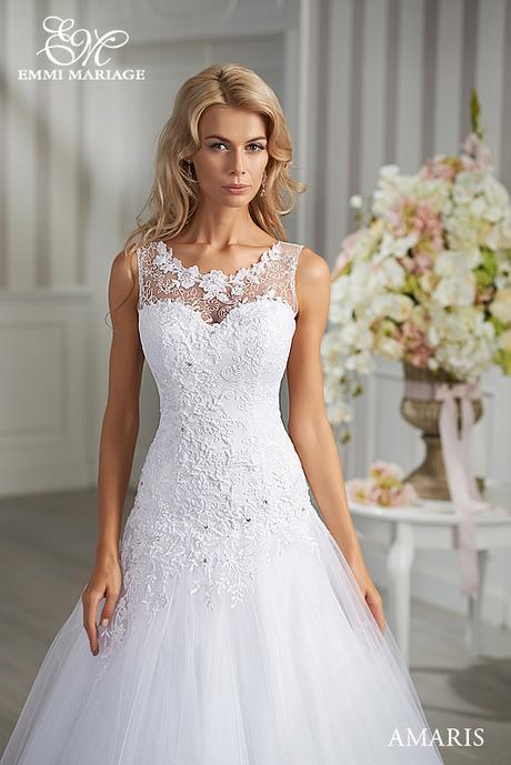 Svadobné šaty Emmi Mariage model Amaris, 36