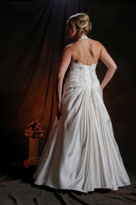 Svadobné šaty Gabrielle, výpredaj, 42