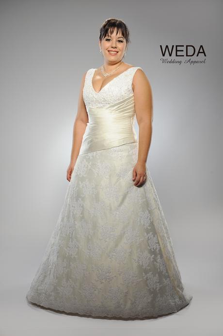 Svadobné šaty Ornela, jediný kus vo výpredaji, 46