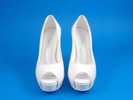 Svadobné topánky Wiola - veľ. od 35 do 40, 35