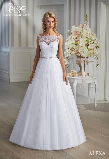 Značkové svadobné šaty Emmi Mariage model Alexa , 36