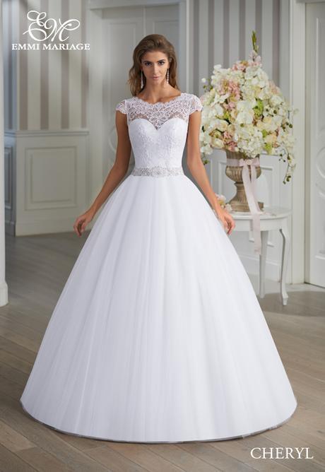 Značkové svadobné šaty Emmi Mariage model Cheryl, 36