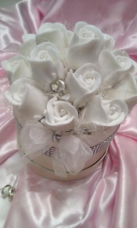 Mydlova kytica ako dar pre nevestu,