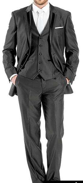 Nepoužitý luxusní oblek s vestou vel. xl, 54