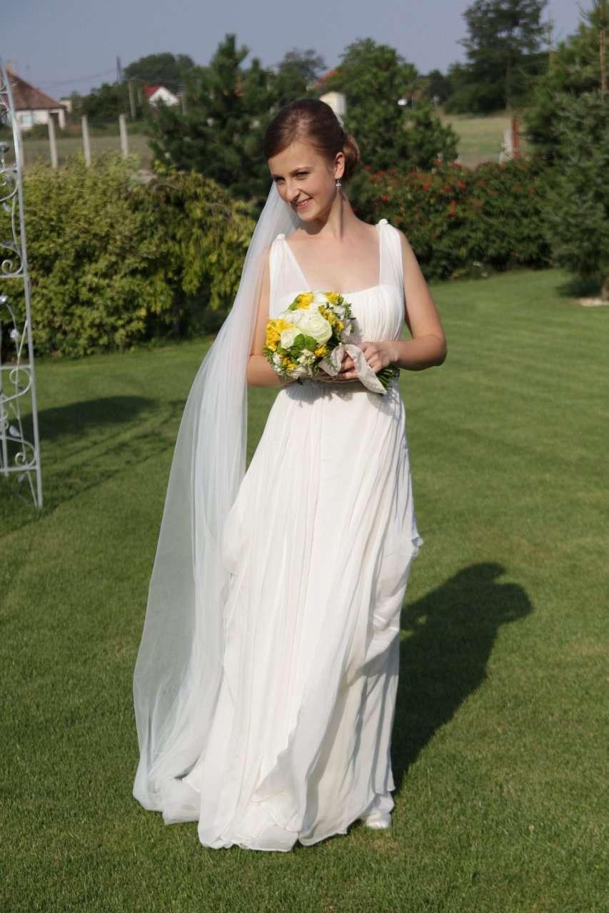 733f26263 Kvalitné hodvábne svadobné šaty - znížená cena, 36 - 180 € | Svadobný bazár  | Mojasvadba.sk