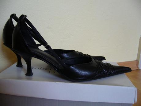 čierne spoločenské topánky, 38